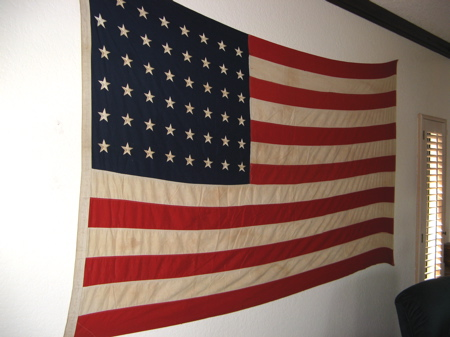 48-star USA Flag 1949