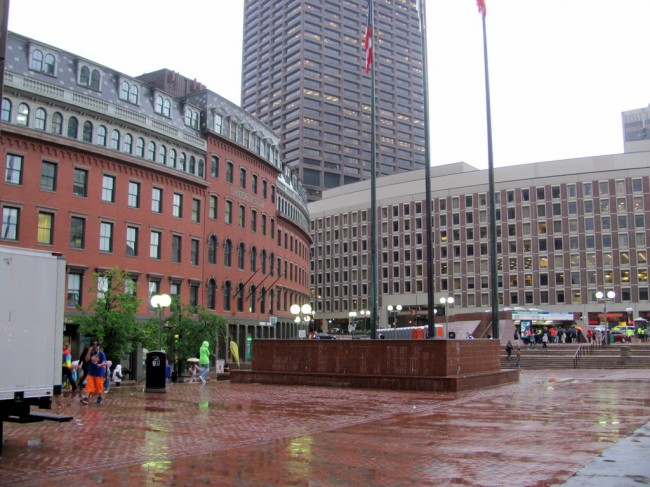 A photo of Boston that I took.