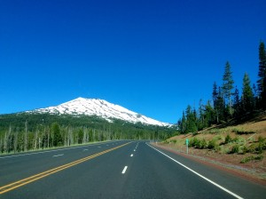 Mt. Bachelor from the Highway