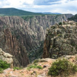 The Black Canyon of the Gunnison Is Really More of a Dark Russet Color